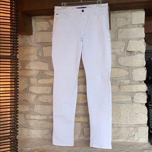 Joe's White Straight Leg Jeans